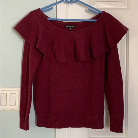 Banana Republic Sweaters - Off the shoulder sweater